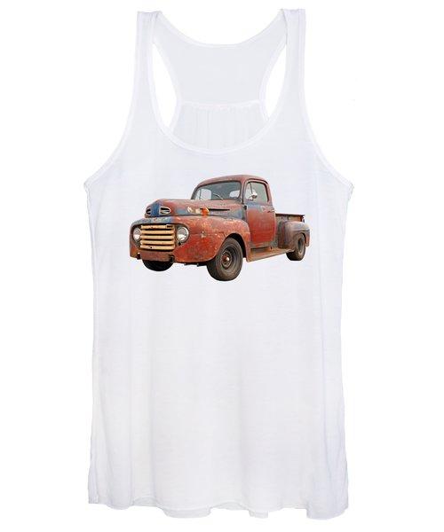 Rusty Ford Farm Truck Women's Tank Top