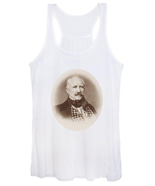 Sam Houston Portrait - 1859  Women's Tank Top