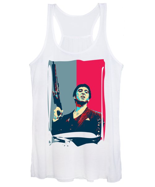 Scarface - Tony Montana - Say Hello To My Little Friend  Women's Tank Top