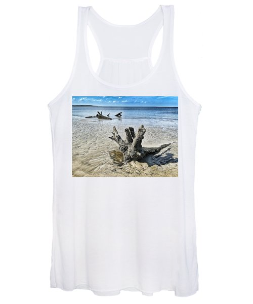 Sculpted By The Sea Women's Tank Top
