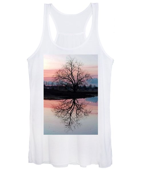 Serenity At Sunset Women's Tank Top