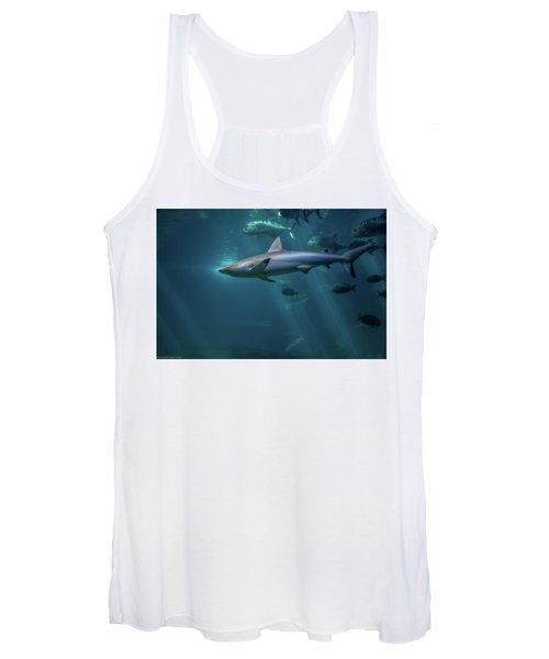 Shark Attack Women's Tank Top