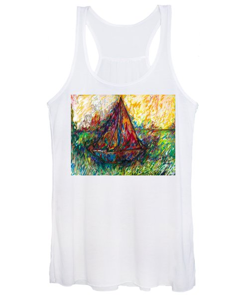 Ship In Color Women's Tank Top