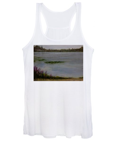 Silver Lake During The Wildfires Women's Tank Top