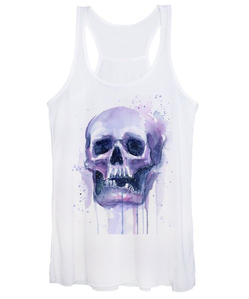 Skull In Space Women's Tank Top