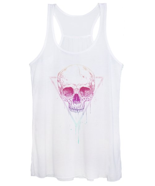 Skull In Triangle Women's Tank Top