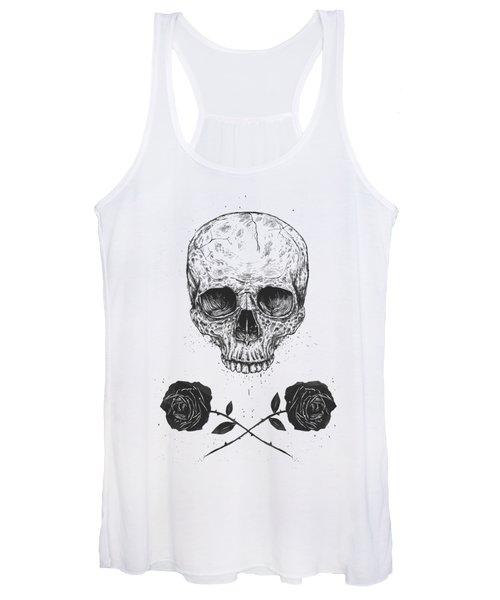 Skull N' Roses Women's Tank Top
