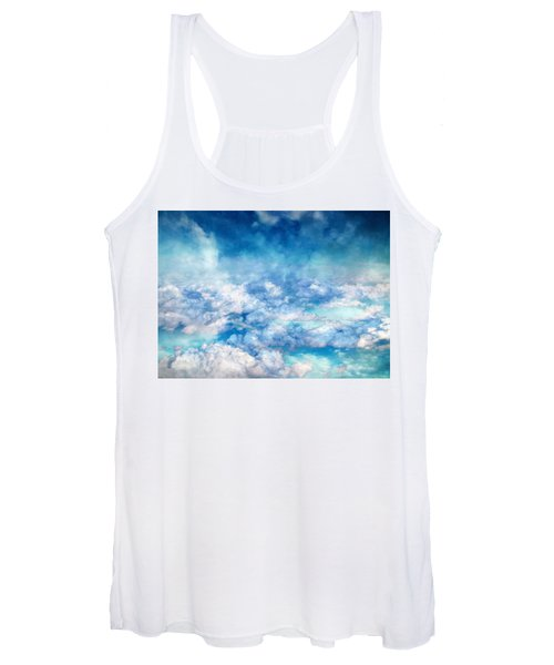 Sky Moods - A View From Above Women's Tank Top
