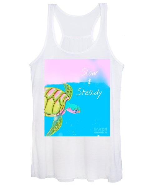 Slow And Steady Women's Tank Top