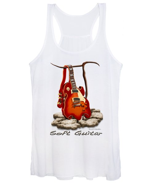 Soft Guitar - 3 Women's Tank Top