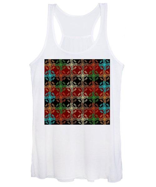 Southwestern Sun Tile Women's Tank Top