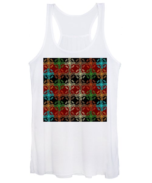 Southwestern Sun Tile Women's Tank Top