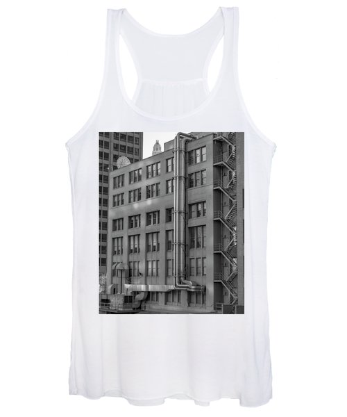Squares And Lines Women's Tank Top