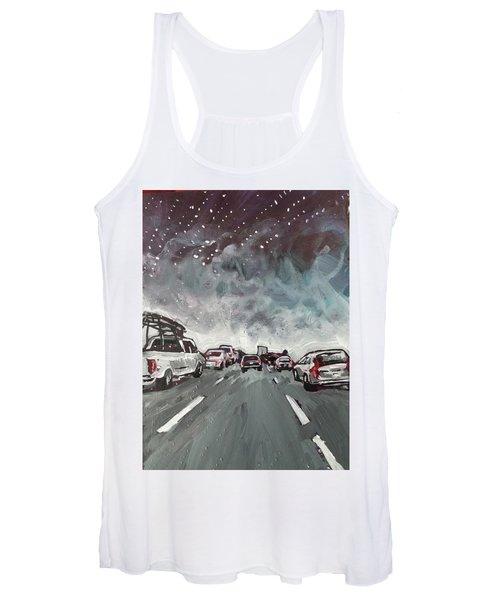 Starry Night Traffic Women's Tank Top