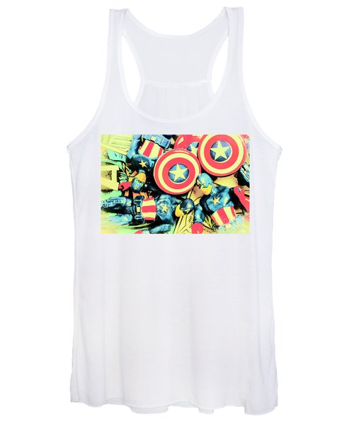 Stars Of Freedom Fighters Women's Tank Top