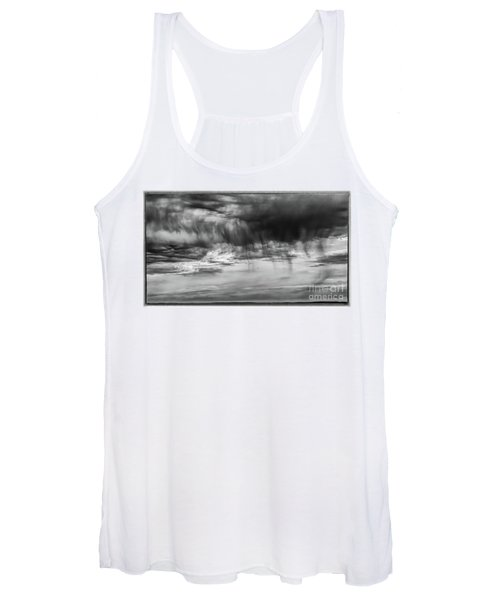 Stormy Sky In Black And White Women's Tank Top