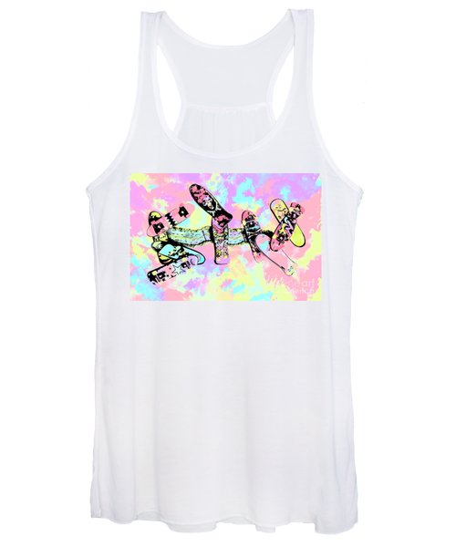 Street Sk8 Pop Art Women's Tank Top