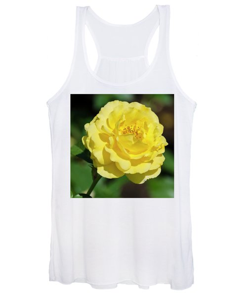 Striking In Yellow Women's Tank Top