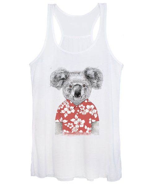 Summer Koala Women's Tank Top