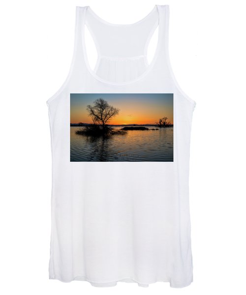 Sunset In The Refuge Women's Tank Top
