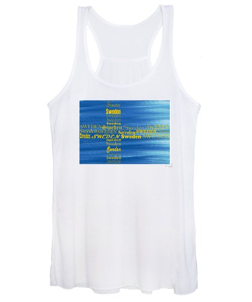 Sweden  Women's Tank Top