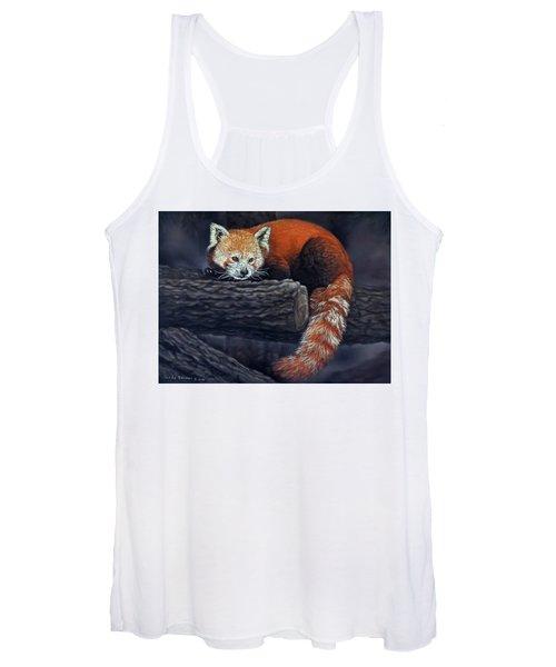 Takeo, The Red Panda Women's Tank Top
