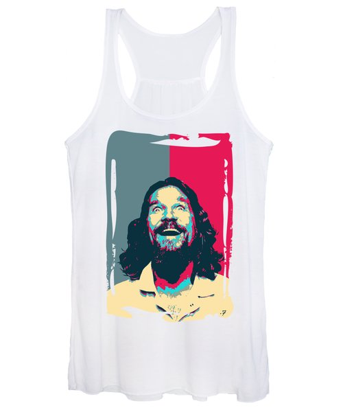 The Big Lebowski Revisited - The Dude No. 2 Women's Tank Top