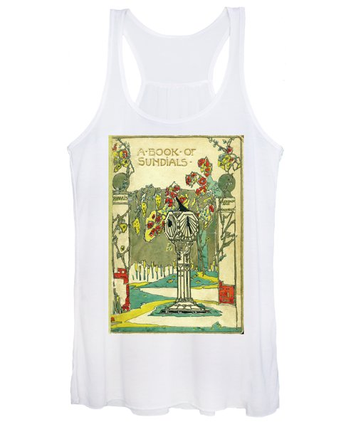 Cover Design For The Book Of Old Sundials Women's Tank Top