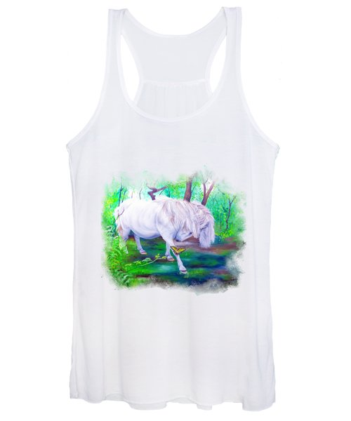 The Butterfly And The Pony Women's Tank Top