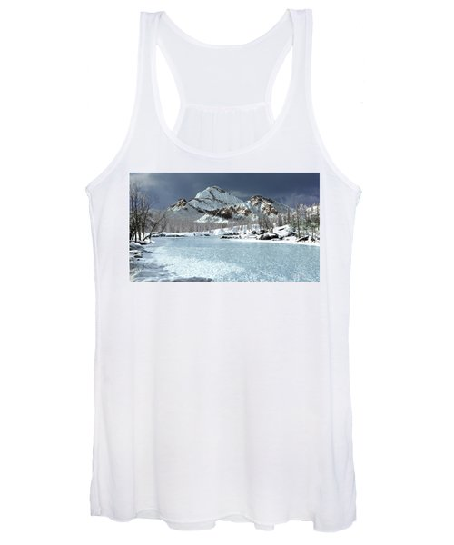 The Courtship Of Ice Women's Tank Top