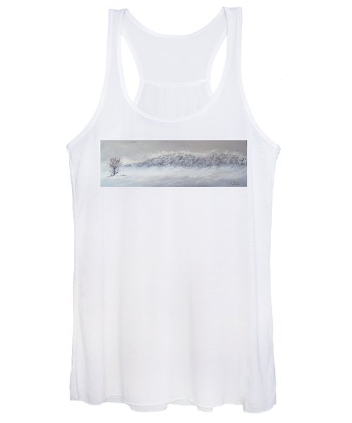 The Front Of Cold Women's Tank Top