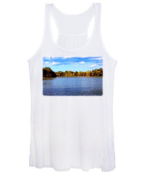 The Lake In Autumn Women's Tank Top