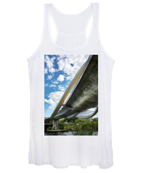 The Millennium Bridge From Below Women's Tank Top