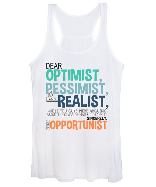 The Opportunist Women's Tank Top