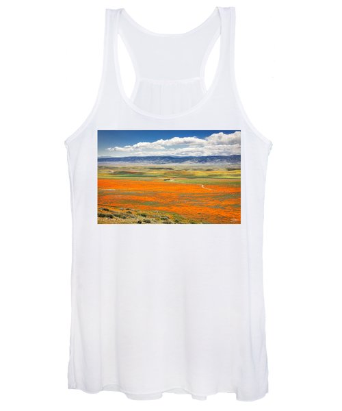 The Road Through The Poppies 2 Women's Tank Top