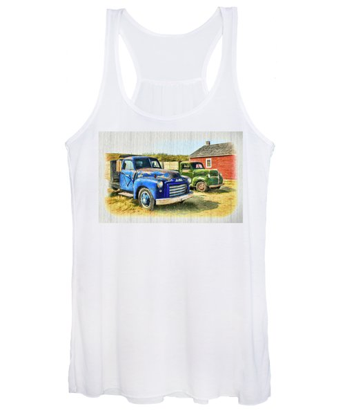 The Strong Silent Types Women's Tank Top