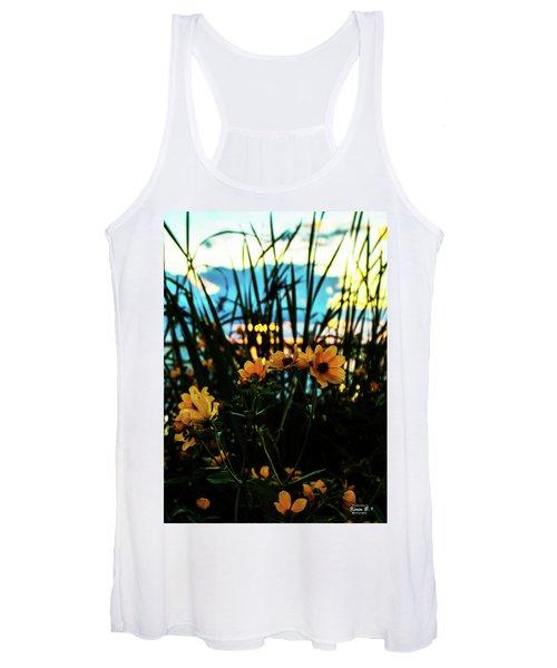 The Sunflower's Sunset Women's Tank Top
