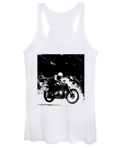 The Vintage Motorcycle Racer Women's Tank Top