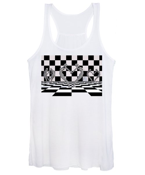Three Of Hearts Women's Tank Top