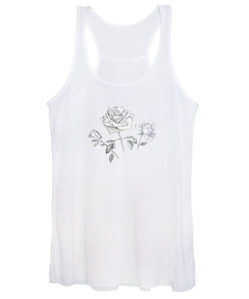 Three Roses Women's Tank Top