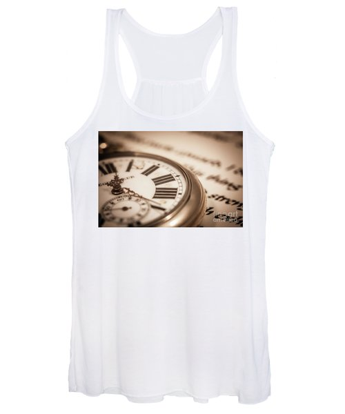 Time And Words Women's Tank Top