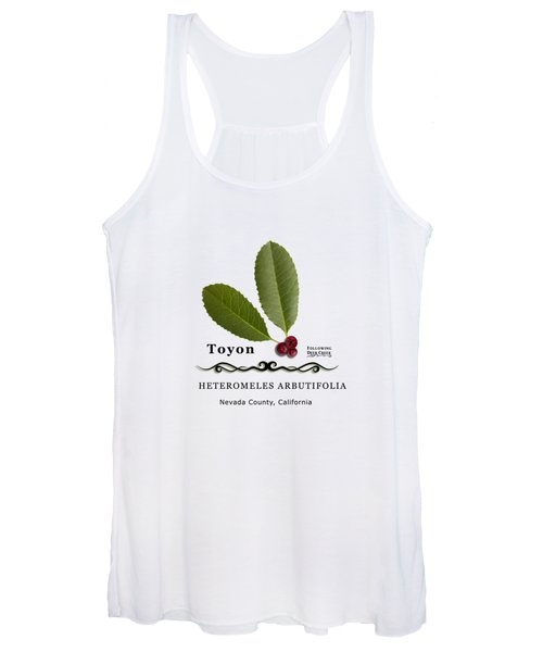 Toyon Christmas Berry Women's Tank Top