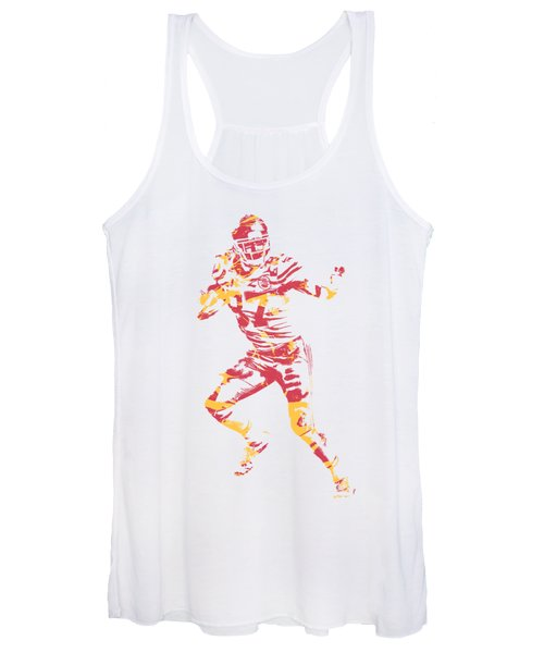 Travis Kelce Kansas City Chiefs Apparel T Shirt Pixel Art 2 Women's Tank Top