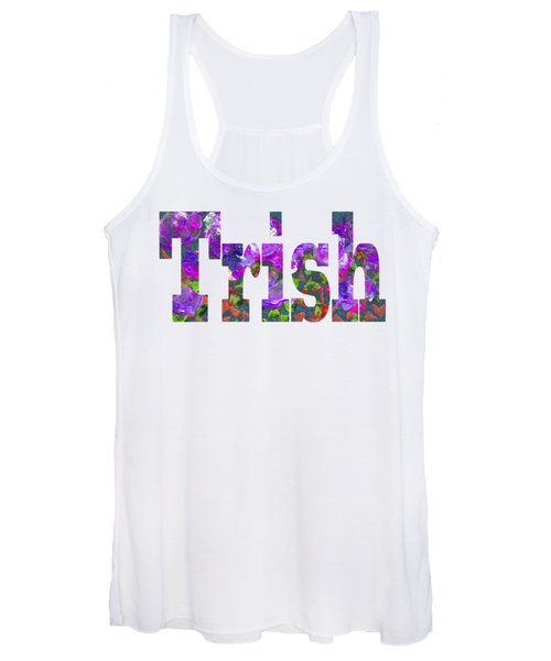 Women's Tank Top featuring the painting Trish by Corinne Carroll