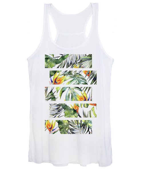 Tropical Garden Women's Tank Top