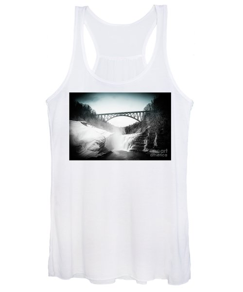 Upper Falls At Letchworth State Park Women's Tank Top