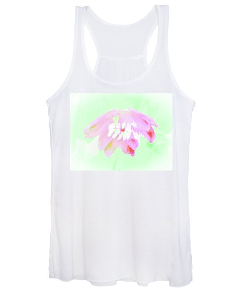 Violet Red Islamic Flora Women's Tank Top