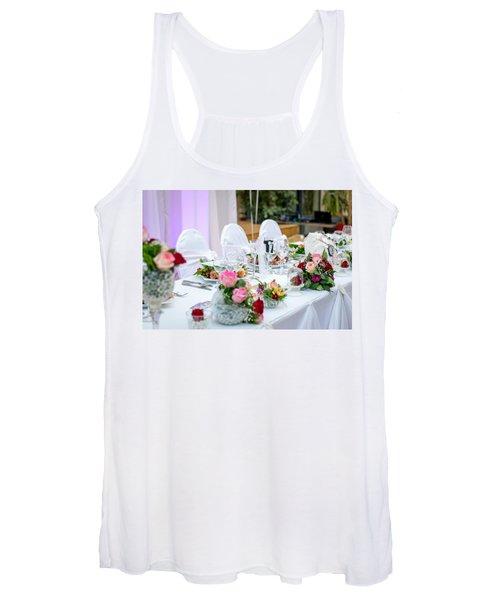 Wedding Table Women's Tank Top