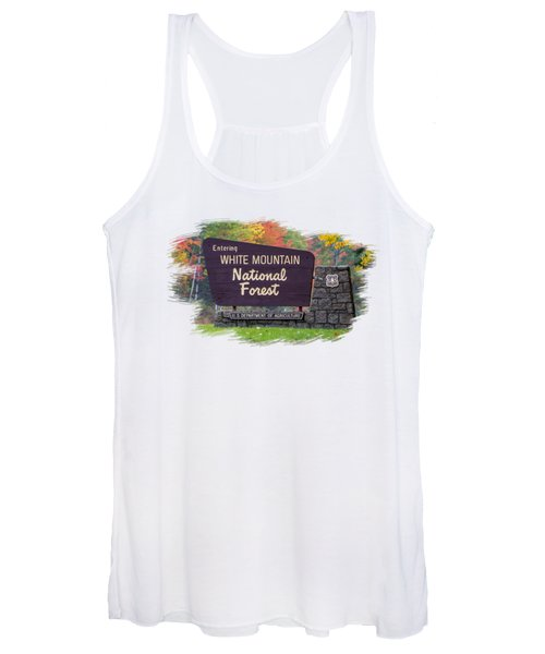 White Mountain National Forest Transparency Women's Tank Top