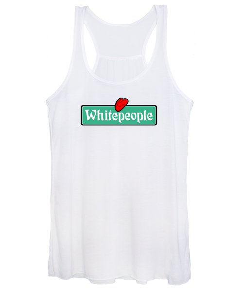 White People Women's Tank Top